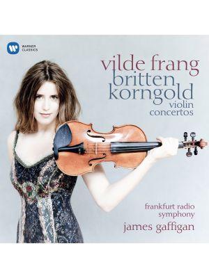 KORNGOLD, BRITTEN : Concertos pour violon, par Vilde Frang (CD)