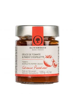 Délice de Tomate & Piment d'Espelette - pot