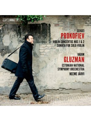 Serge PROKOFIEV : concertos pour violon, par Vadim Gluzman, violon (CD)