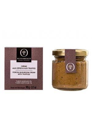 Crème de cèpes et de truffe (Tuber Albidum 3% & Tuber Aestivum 2%) - pot