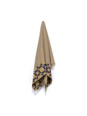 Beige Linen Shawl, Alhambra®, Portofino
