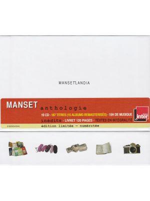 GERARD MANSET - Mansetlandia (19 CD)