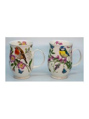 Mug Hedgerow Birds