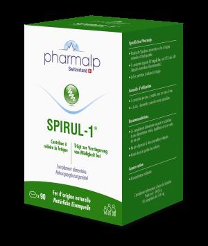 PHARMALP SPIRUL-1 90 comprimés