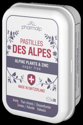 PHARMALP pastilles des Alpes 30 pce boite