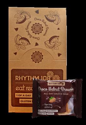 All Day Snack Bar - Choco Walnut Brownie 12 x 40g