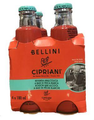 Bellini Cipriani - pêches blanches