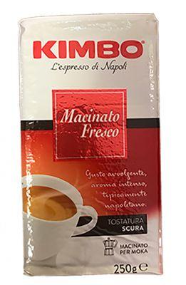 Café moulu pour cafetière Kimbo