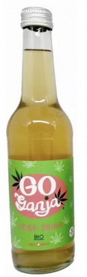 GO ganja Hemp Bottle 330ml