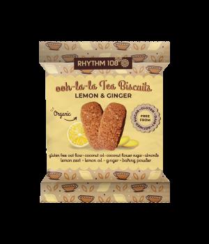 Tea Biscuit - Lemon Ginger 12x24g