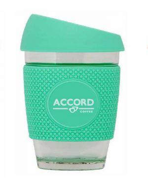 Accord Tasse Réutilisable/Reusable Coffee Cup - Teal