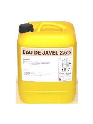 Eau de Javel 2,5% - 10Litres