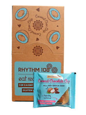 All Day Snack Bar - Coconut Choc Chip 12 x 40g