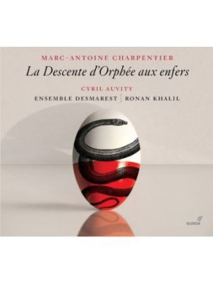 Marc-Antoine CHARPENTIER : La Descente d'Orphée aux Enfers, par l'ensemble Desmarest (CD)