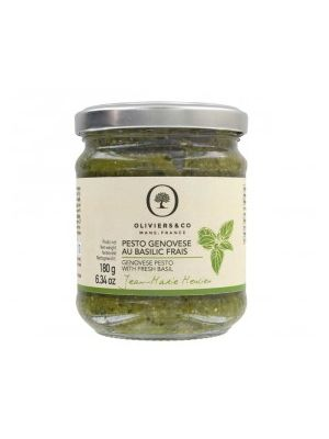Pesto Genovese - Basilic et Parmesan - pot