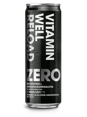 VITAMIN WELL ZERO RELOAD Can 355ml (Pack of 24 pcs)