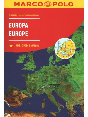 Europe 2nd edition - Road Atlas de  Collectif