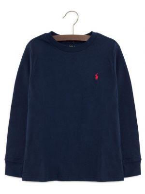 T-shirt en coton à manches longues