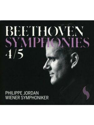 BEETHOVEN : Symphonies 4 et 5, par Philippe Jordan (CD)