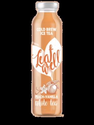 Leafwell PEACH-VANILLA Bottle 330ml (Pack of 6 pcs)