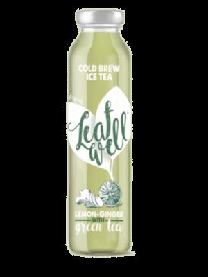 Leafwell ICE TEA LEMON-GINGER Bottle 330ml (Pack of 6 pcs)