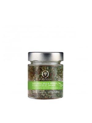 Mélange Sel & Herbes pour Pâtes et Salades - pot
