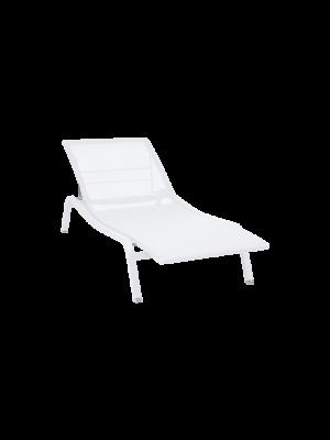 Fermob Alizé Chaise Longue Blanc Coton