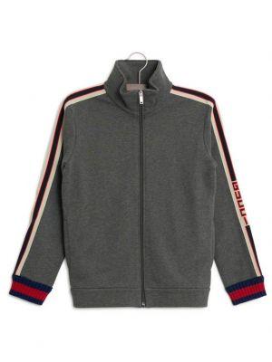 Sweat-shirt zippé Gucci Stripe