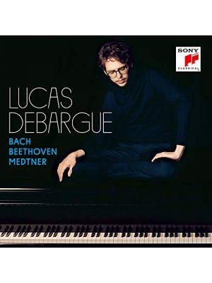 BACH, BEETHOVEN, MEDTNER, par Lucas Debargue, piano (CD)