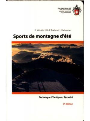 Sports de montagne d'été - Technique, tactique, sécurité de  K. Winkler,  Brehm, H.-P.,  Haltmeier, J.