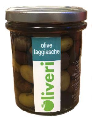 Olives Taggiasca saumurées