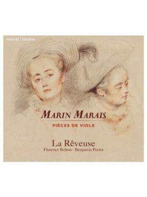 Marin MARAIS - Pièces de viole, par l'ensemble La Rêveuse (CD)