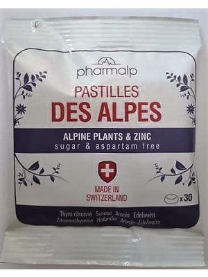 PASTILLES DES ALPES 30 pastilles sachet