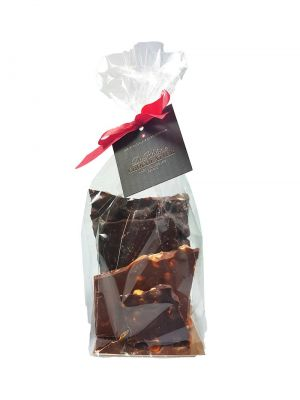 Sachet de chocolat en blocs