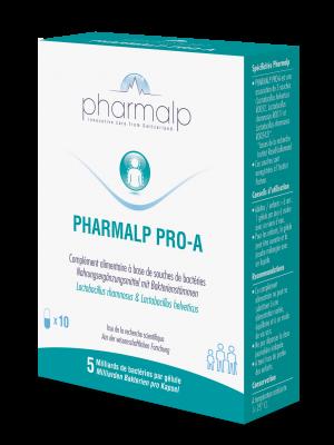 PHARMALP PRO-A probiotique gélules 10 pce