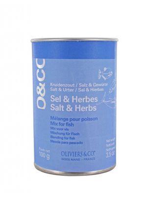 Mélange Sel & Herbes pour Poisson - pot