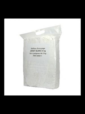 Chiffon drap blanc 5 Kg