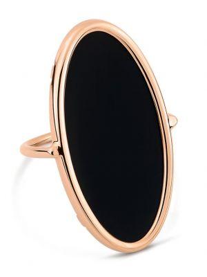 Bague en or rose Ellipse Onyx Ring