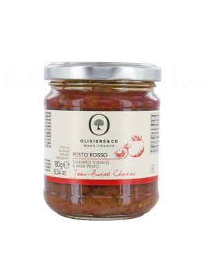 Pesto Rosso - Basilic & Tomate séchée - pot