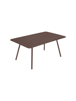 Fermob Luxembourg Table 165x100cm Rouille