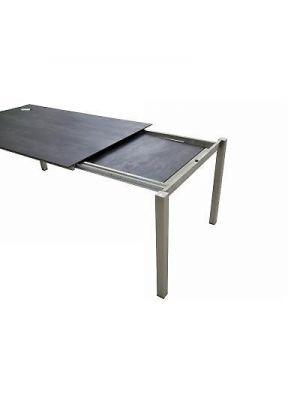 Sit-Mobilia Manhattan Table Céramique 160/230cm Béton Sombre