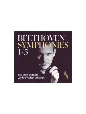 BEETHOVEN : Symphonies 1 et 3 par Philippe Jordan (CD)