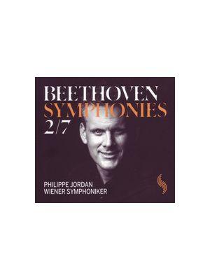 BEETHOVEN : Symphonies 2 et 7, par Philippe Jordan (CD)