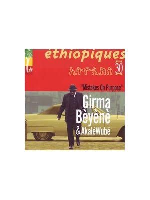 Girma BEYENE - Mistakes on purpuse (CD)