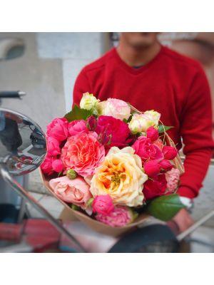 bouquet de roses labellisées GRTA - Fleuriot