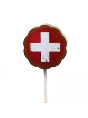 Sucette pralinée suisse