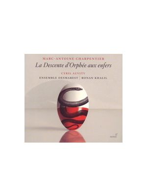 Marc-Antoine CHARPENTIER : La Descente d'Orphée aux Enfers, par l'ensemble Desmarest (CD)