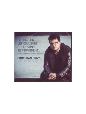 DEBUSSY, LISZT - Les parfums, les couleurs et les sons se répondent, par Christian Erny, piano (CD)