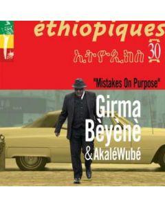 Girma BEYENE - Mistakes on purpose (CD)