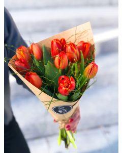 bouquet de tulipes labellisées GRTA